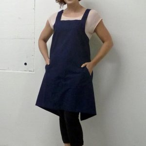 Apron Navy front