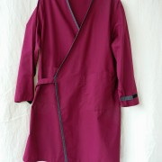 lab coat magenta purple