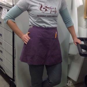clothing apron wrap around front